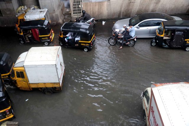 Cyclone moves towards Mumbai, rains cripple normal life