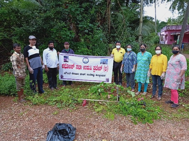 KEEP THE SURROUNDING NEAT, CLEAN AND GREEN – SOCIAL AWARENESS BY MOUNT ROSARY CATHOLIC SABHA.