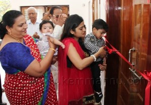 New Parochial House of Mount Rosary Church at Santhekatte, Kallianpur  inaugurated by Sonia Dias