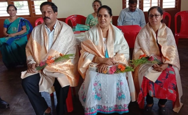 CATHOLIC SABHA, Mount Rosary Church Unit Honours newly elected Grama Panchayat Members.
