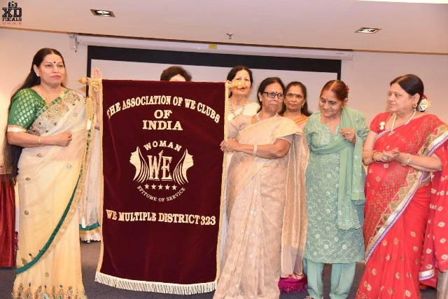 The Association of WE Clubs of India, launched and inaugurated recently in Navi Mumbai