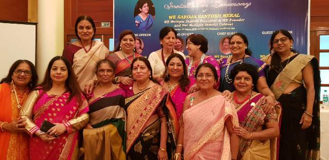 Grand Installation Of Multiple District President WE Saroja Mekal