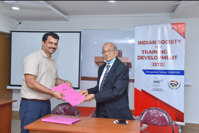 ISTD Mangalore - Udupi Chapter inks MOU with Swastika National School
