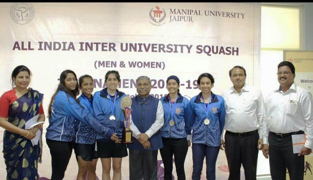 MAHE women finish runners at A-I Varsity Squash Tourney