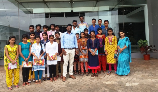 Udupi: Orientation visit by Milagres Post Graduate Students.