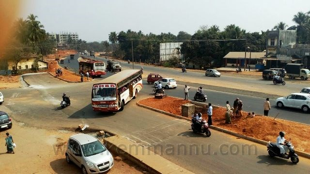 New NH 66 Highway: Life at risk in Santhekatte, Kallianpura Junction