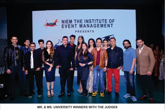 talent on display at NIEM's College Idol and Mr & Ms University