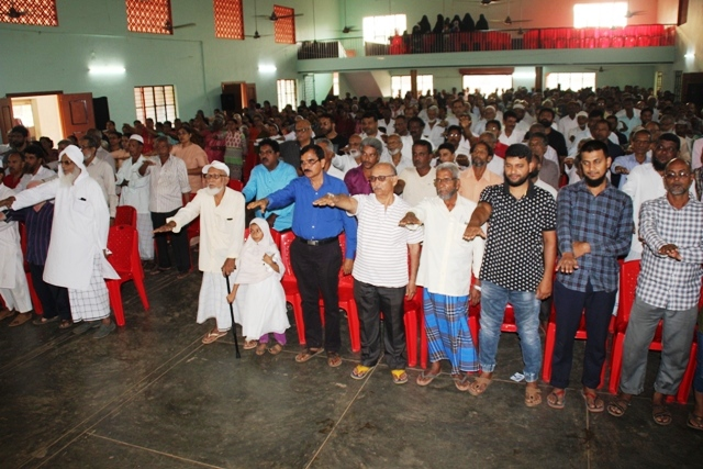 'Thonse Sahabalve Samiti organizes Mega Awareness Meet at Kemmannu about CAA, NRC and NPR.
