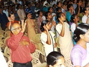 Different Churches pray for India on Gandhi Jayanthi