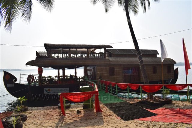 Udupi: Kerala Style houseboat inaugurated at Kemmannu Back waters