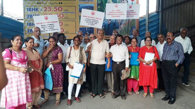 All India Bank Retirees Federation (AIBRF) is on agitation across the nation . All India Bank Retirees Federation (AIBRF) is on agitation across the nation .