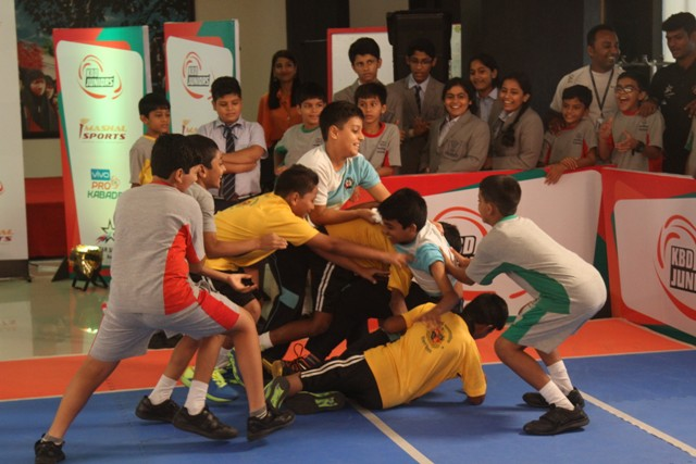 Kabaddi Juniors Meet and Greet held at Mumbai