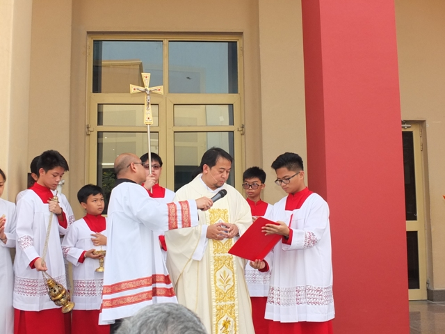 10TH ANNIVERSARY OF THE INAUGURATION OF THE CATHOLIC CHURCH OF OUR LADY , DOHA-QATAR
