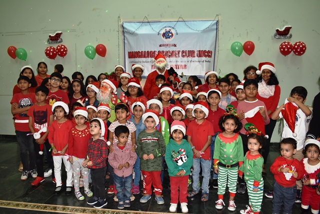 Mangalore Cricket Club (MCC) Doha, Qatar organizes Children's Christmas Party 2019