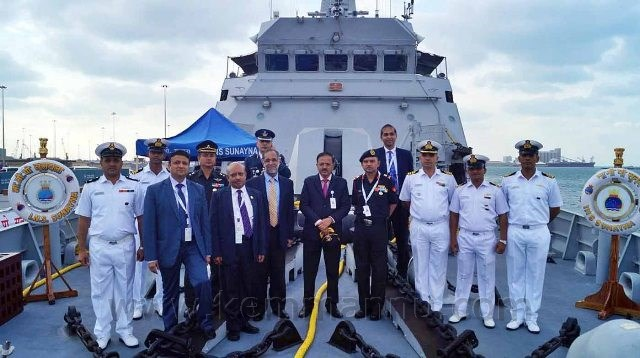 Indian Naval Vessel INS Sunayna concludes its participation in the International Defence Expo.