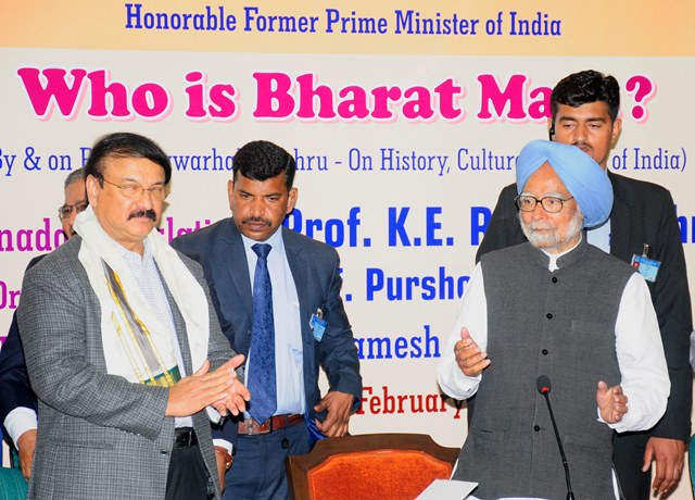 'Bharat Mata Ki Jai' Being Misused To Construct 'Militant' Idea Of India: Manmohan Singh