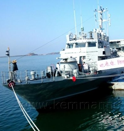 INS TILLANCHANG COMMISSIONED AT KARWAR
