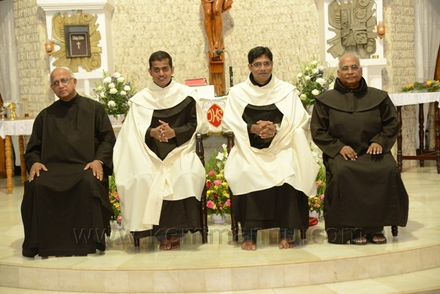 Solemn Profession Br. Don Tony D'Souza, Miyar and Br. Amyas Quadros Fatroda - Goa held in Mangaluru