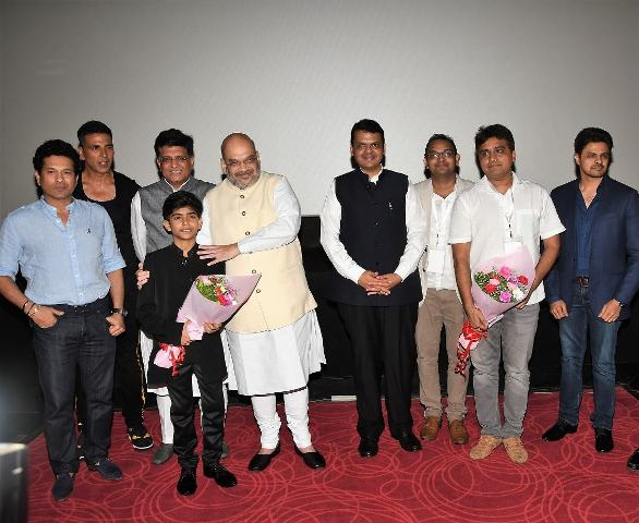 "special screening of film ""Chalo Jeete Hain"""
