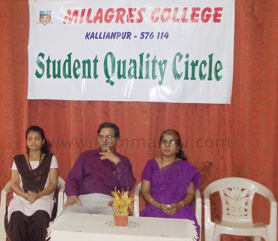Clean Milagres Clean India - Student Quality Circle in the MIlagres College
