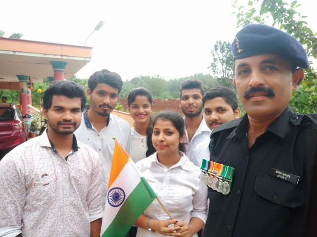 ICYM Central Council Mangalore Diocese celebrates 72nd Indian Independence Day with Selfie with Soldier Campaign all over the diocese
