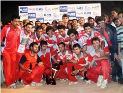 Mangalore United lifts the Moodbidri Eleven T-20 TROPHY