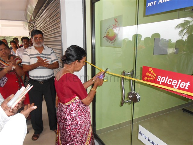 Fly-High Tours and Travels inaugurated at GSJ Royale, Santhekatte, New Udupi