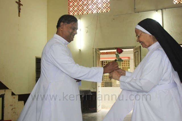 Teacher's day celebrated at Kemmannu Church.