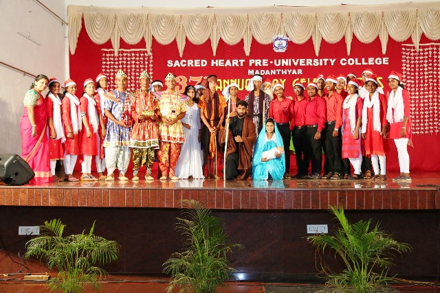 Sacred Heart Pre-University College, Madanthyar holds 37th Annual Day Celebration
