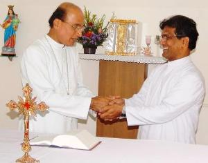 UDUPI: BISHOP GERALD APPOINTS FR HAROLD PEREIRA AS DIRECTOR OF SCC
