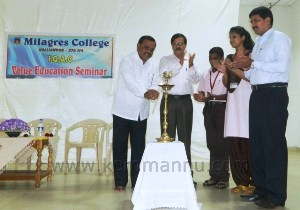 Value Education Seminar at Milagres College
