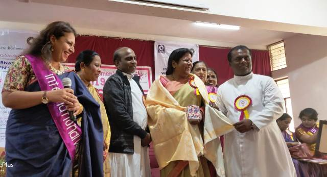 Bangalore Archdiocese specially recognizes 10 women on International Women's Day 2019