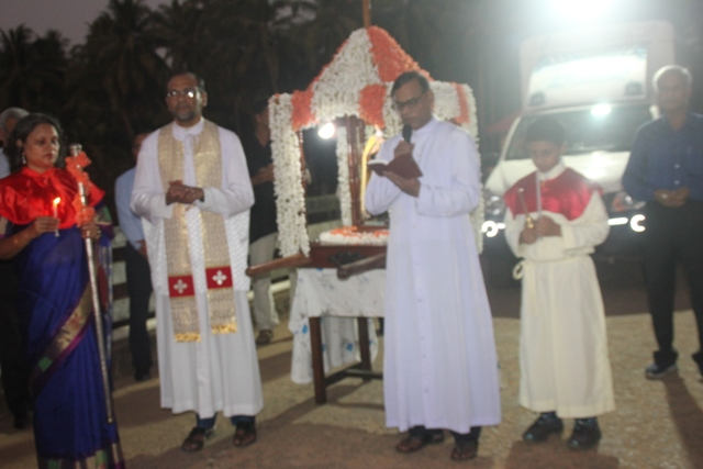 St. Theresa Church Kemmannu-Vespers Celebrations