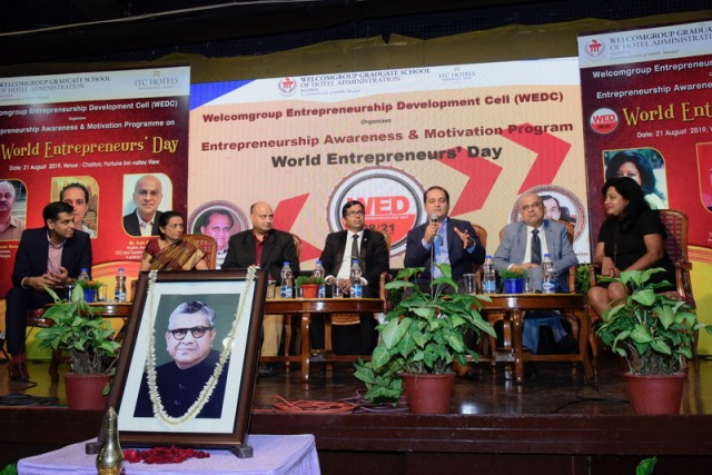 World Entrepreneurs' meet held at WGSHA, Fortune Inn Valley View, Manipal