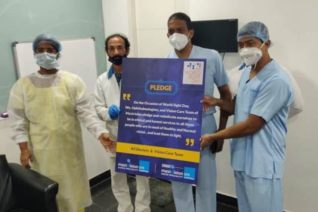 """Vision First"" Campaign on world sight day"