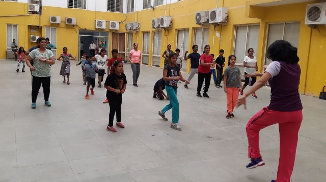 Zumba workshop organized at VIBGYOR Group of Schools