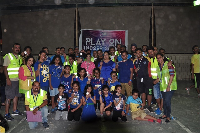KCWA organized 'Play on Indoor Sports'