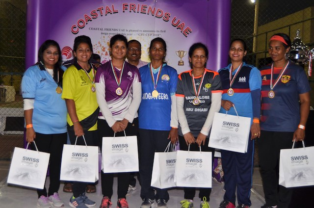Coastal Friends UAE held throwball tournament
