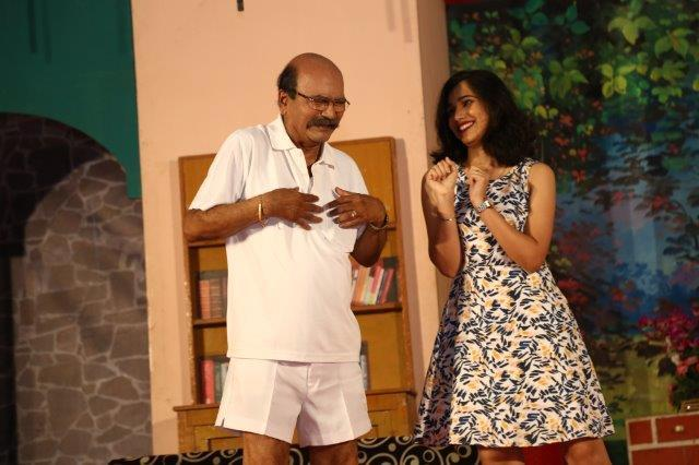 "87TH SHOW OF ""MHATARO CHORBELA"" KONKANI DRAMA AT JERIMERI, MUMBAI."