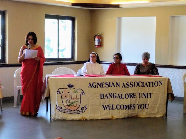 Centenary Celebrations announced at Agnesian's Meet (Bangalore Chapter)