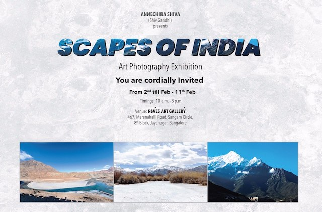 Award winning photographer Shiv Gandhi's maiden exhibition to be held in Bengaluru