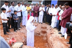 STONE LAYING CEREMONY OF SAIM RESIDENCY