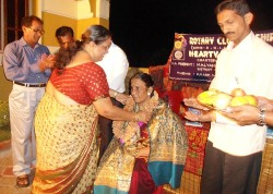 deepavali celebration by shirva rotary