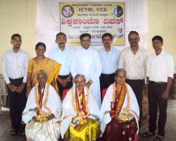 Teachers Day celebrated at Kemmannu Church.