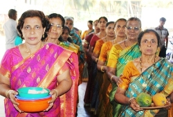 Grand celebration of Women's day at Kemmannu Church.
