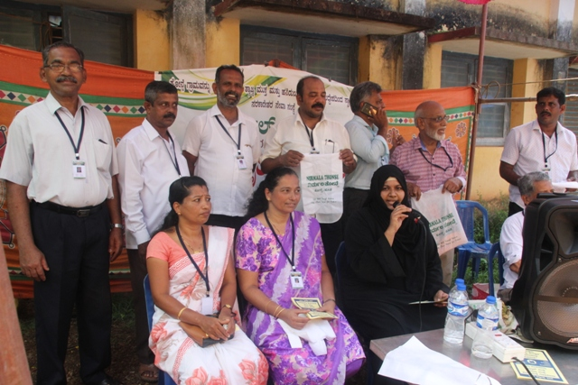 Nirmala Thonse organizes Awareness Campaign against Plastic Products.