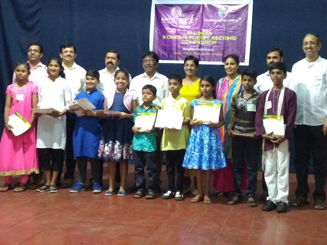 KNS and Kavita Trust® holds Poetry Reciting competition