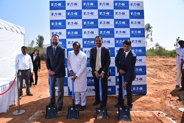 Eaton breaks ground in Bangalore to build its first Aerospace manufacturing facility in India