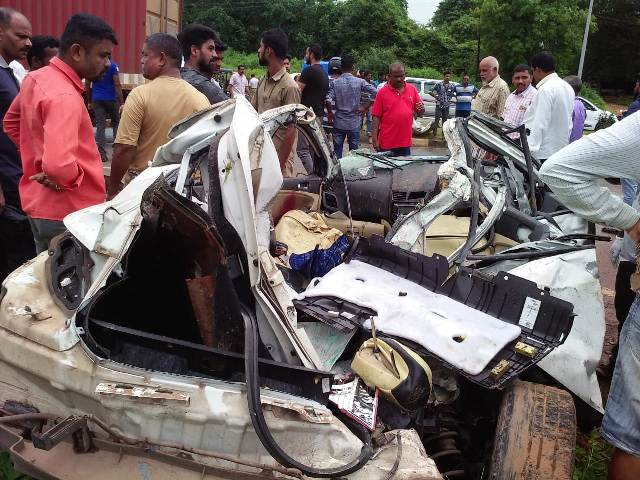 Udupi- Santhekatte Car-tempo collision– two dead, two serious