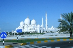 Travel: Sheikh Zayed Grand Mosque, Abu Dhabi, UAE.